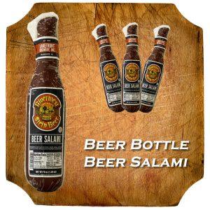 Beer Bottle Shaped Salami
