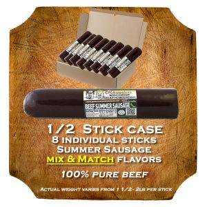 Mix-n-match case summer sausage