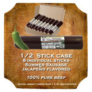 Jalapeno Summer Sausage Case