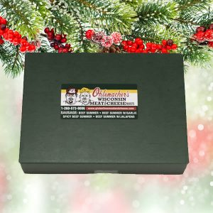 Ohlemacher Holiday Gift Box in Green