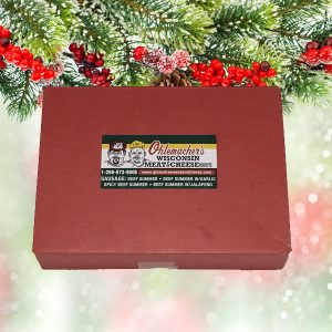 Ohlemachers Holiday Gift Box Red