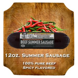 12oz/ Spicy Summer Sausage