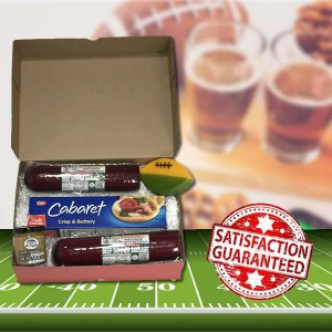 Ohlemacher Gift Box 8336 Sausage with cheese football