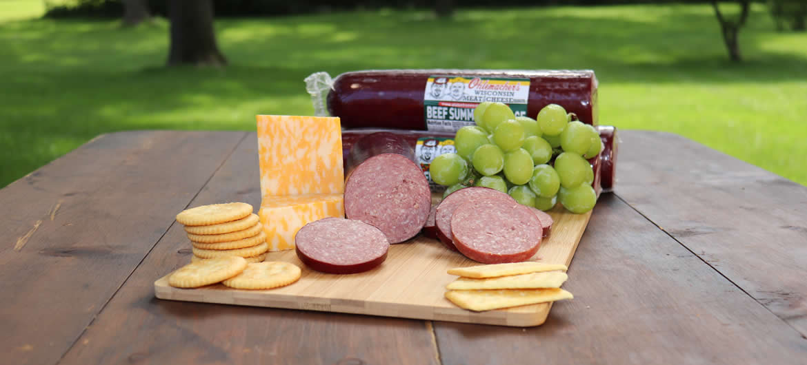 All Beef Summer Sausage Picnic
